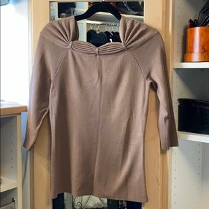 BCBG MAX AZRIA Sweater with rhinestone detail